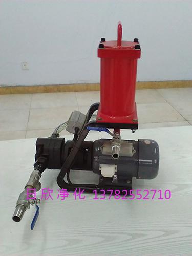 日欣净化实用齿轮油微型滤油机滤油机厂家BLYJ-10