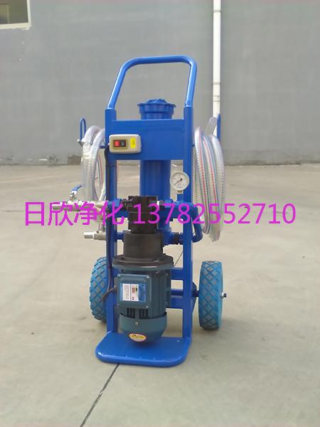 日欣净化BLYJ-6工业齿轮油微型滤油机滤油机厂家高配置
