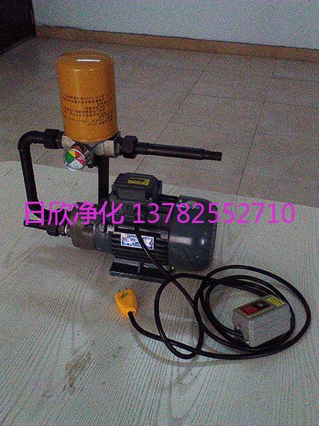 不锈钢齿轮油微型便携滤油机BLYJ-6滤油机