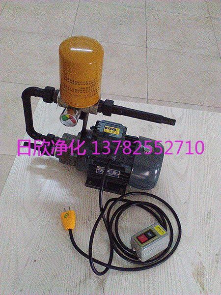 滤油机厂家优质汽轮机油BLYJ-10小型便携滤油机日欣净化