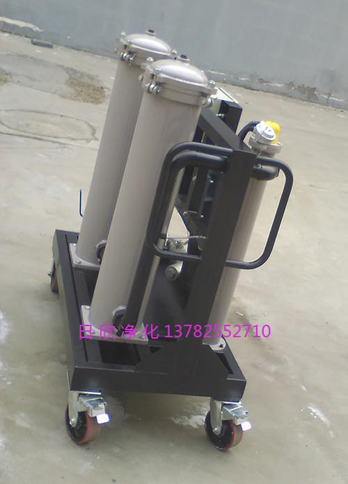 不锈钢日欣净化高粘度滤油机GLYC-100抗磨液压油