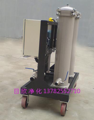 净化设备高粘度油滤油车润滑油GLYC-100高级滤油机厂家