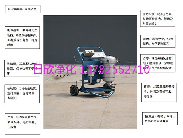 耐用LYC-A25润滑油滤芯滤油机厂家小型过滤机