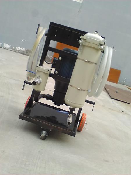 日欣净化LYC-A40手推式滤油车汽轮机油高品质