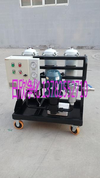 滤芯高精度净油车LYC-B25机油