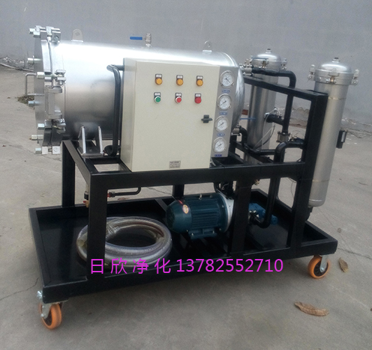 滤油机厂家聚结分离汽轮机油日欣净化LYC-J100聚结脱水滤油机